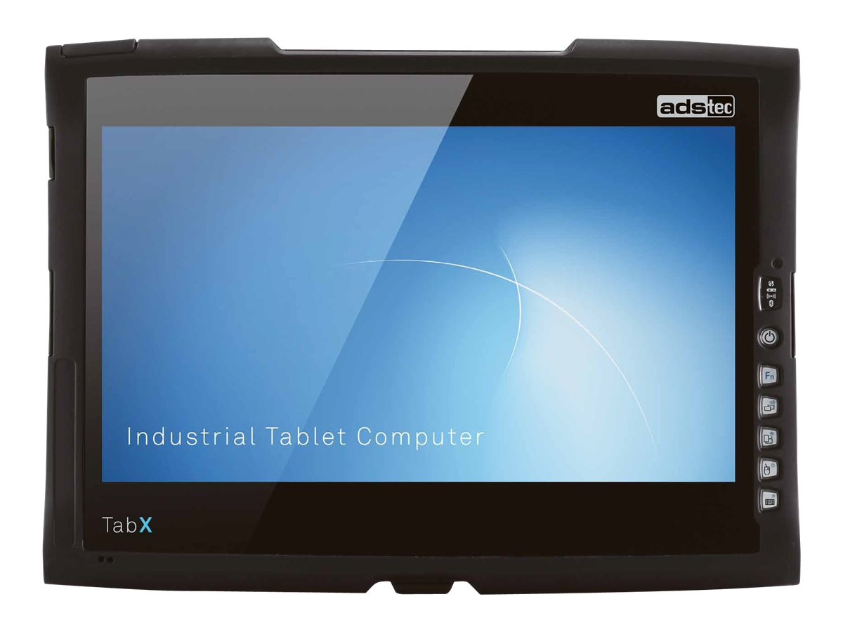 ads-tec TabX ITC8000 series ITC8113 - Tablet - Core i5 4300U / 1.9 GHz - Windows 10 - 8 GB RAM - 120 GB SSD