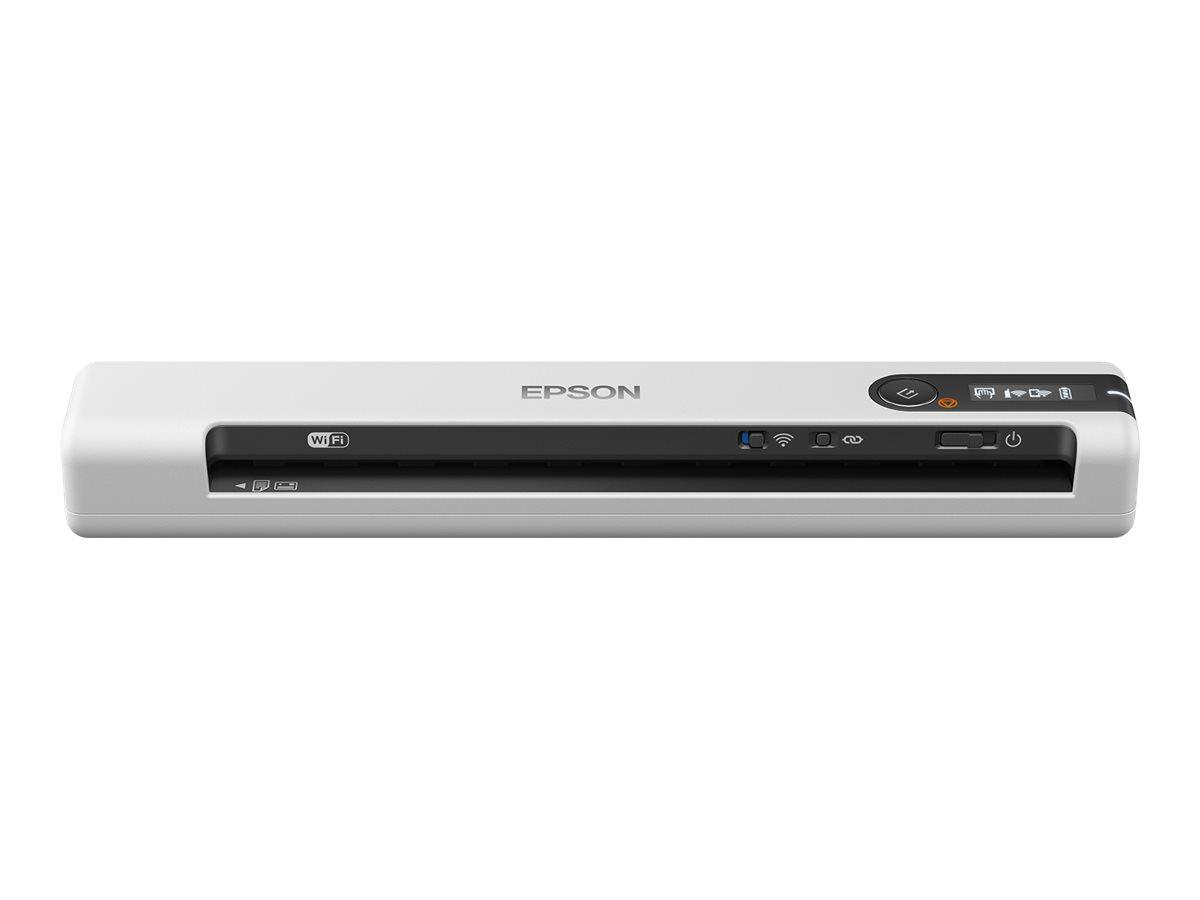 Epson WorkForce DS-80W - Dokumentenscanner - A4 - 600 dpi x 600 dpi - bis zu 15 Seiten/Min. (einfarbig) / bis zu 15 Seiten/Min.