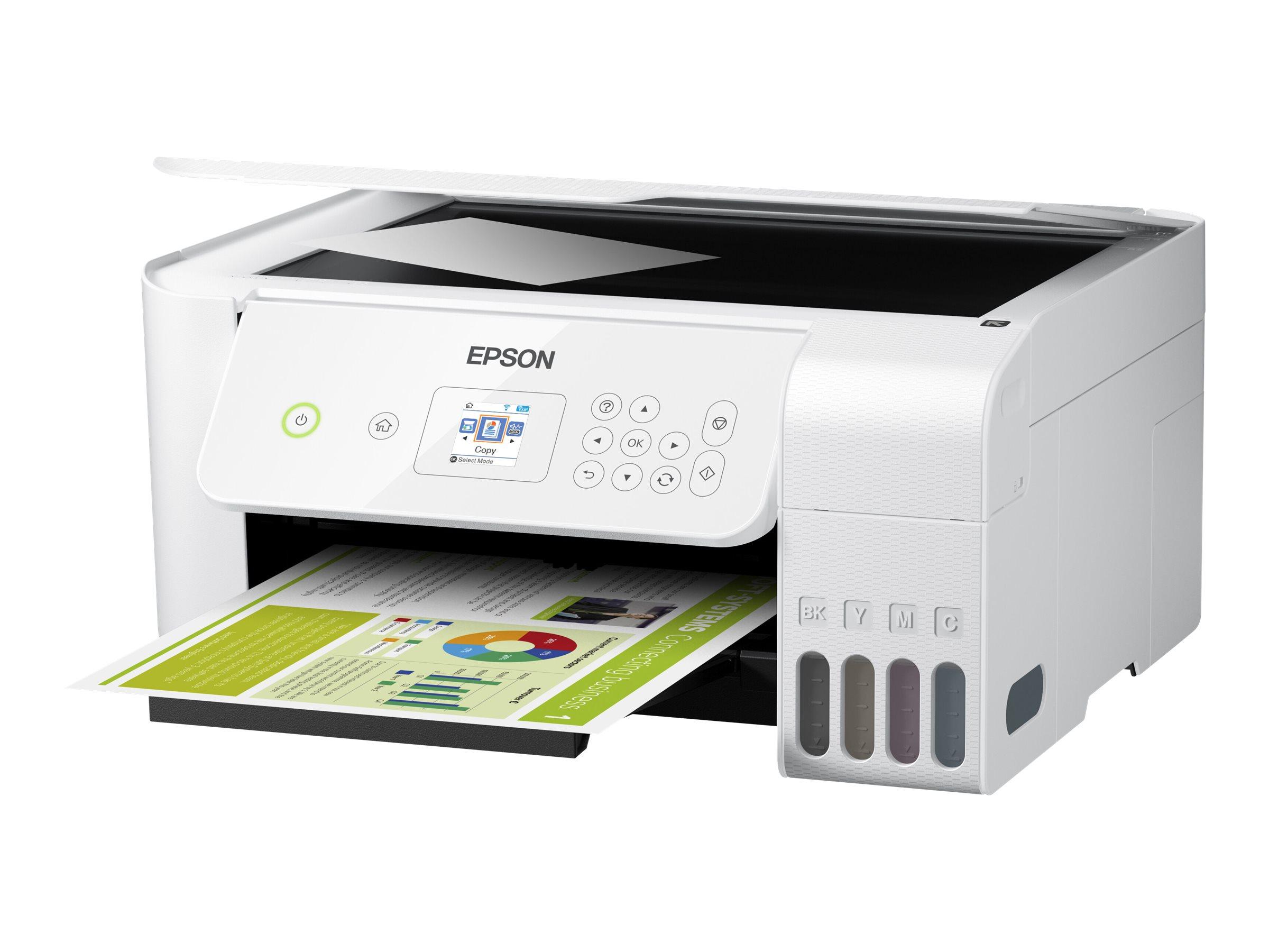Epson EcoTank ET-2726 - Unlimited - Multifunktionsdrucker - Farbe - Tintenstrahl - refillable