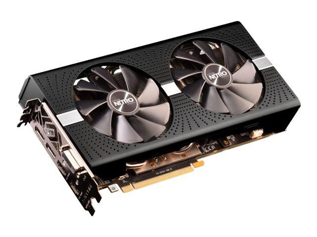 Sapphire NITRO+ RX 590 8GD5 OC - Grafikkarten - Radeon RX 590 - 8 GB GDDR5 - PCIe 3.0 x16 - DVI, 2 x HDMI, 2 x DisplayPort