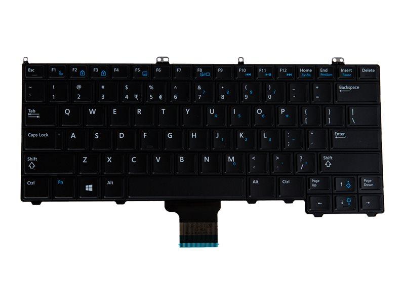 Origin Storage - Tastatur - hinterleuchtet - USA International - für Dell Latitude E6540