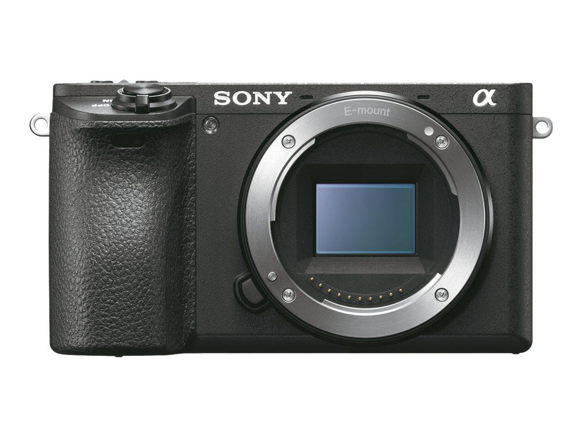 Sony a6500 ILCE-6500 - Digitalkamera - spiegellos - 24.2 MPix - APS-C - 4K / 30 BpS