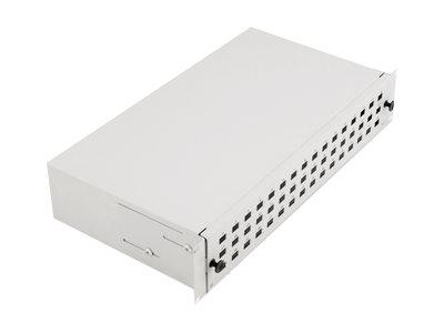 DIGITUS Professional DN-96200-2U - Glasfaserkabelkiste - Grau, RAL 7035 - 2U - 48.3 cm (19
