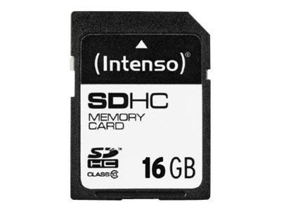 Intenso Class 10 - Flash-Speicherkarte - 16 GB - Class 10 - SDHC