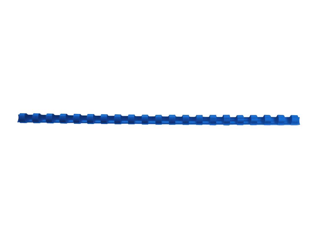GBC CombBind - 8 mm - 21 Ringe - A4 (210 x 297 mm) - 45 Blätter - Blau