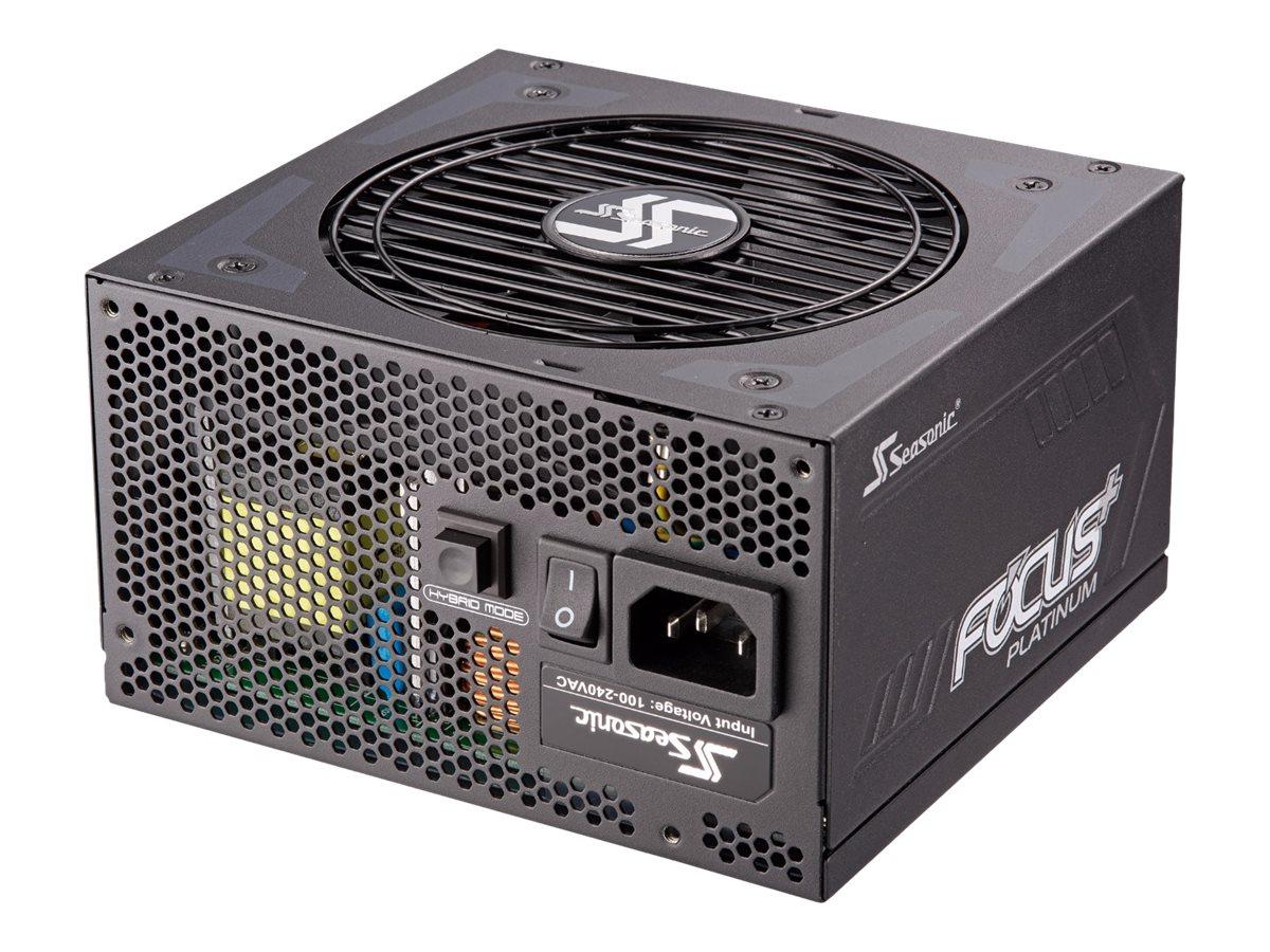 Seasonic FOCUS Plus 550 Platinum - Stromversorgung (intern) - ATX12V - 80 PLUS Platinum - Wechselstrom 100-240 V - 550 Watt