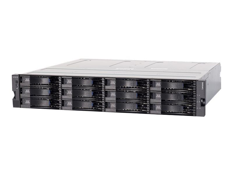 Lenovo Storage V3700 V2 LFF Expansion Enclosure - Speichergehäuse - 12 Schächte (SAS-3) - Rack - einbaufähig - 2U