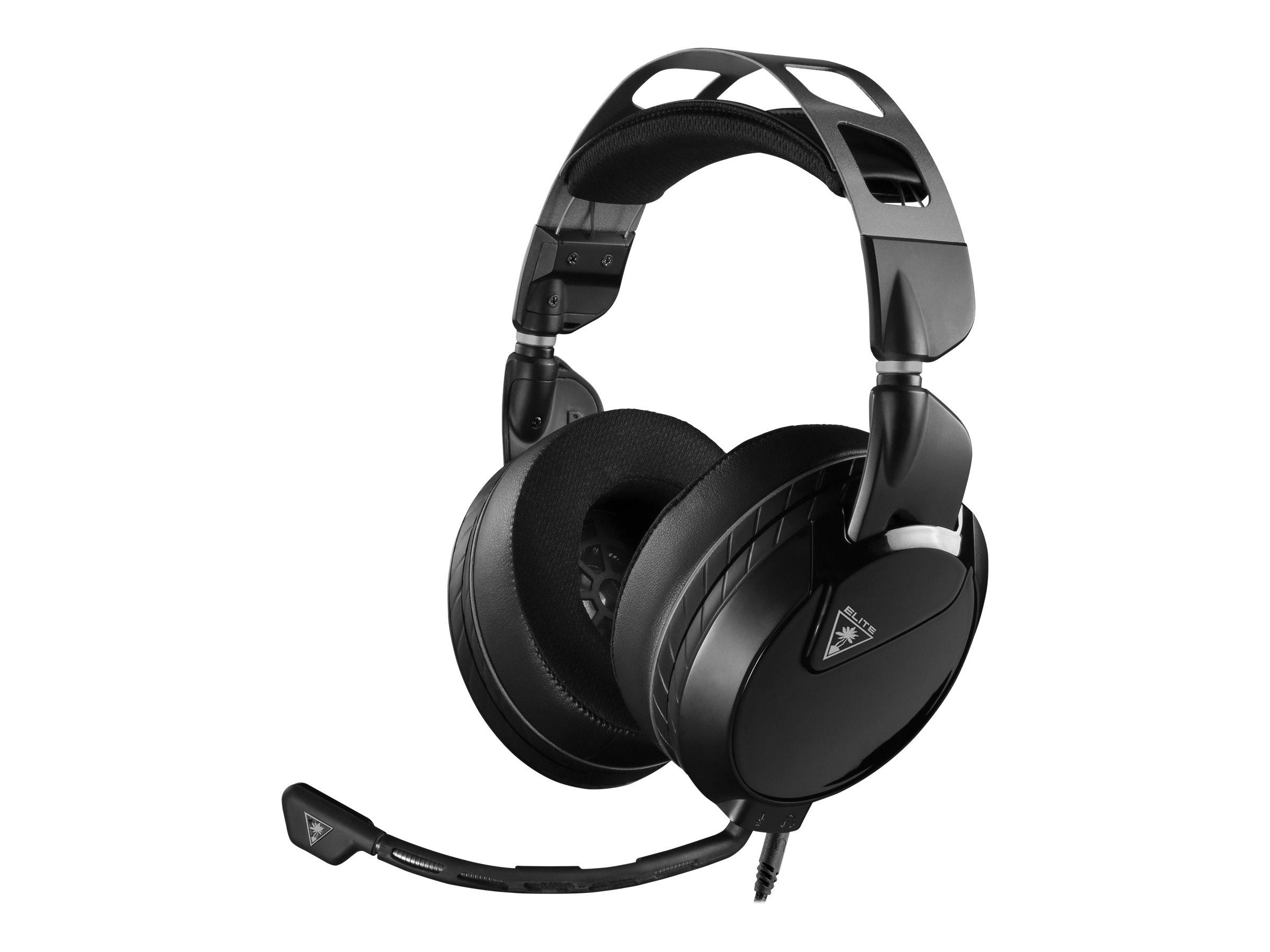 Turtle Beach Elite Atlas - Headset - ohrumschliessend - kabelgebunden - 3,5 mm Stecker - Geräuschisolierung