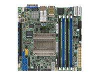 SUPERMICRO X10SDV-4C-TLN4F - Motherboard - Mini-ITX - Intel Xeon D-1518 - USB 3.0 - 2 x 10 Gigabit LAN, 2 x Gigabit LAN