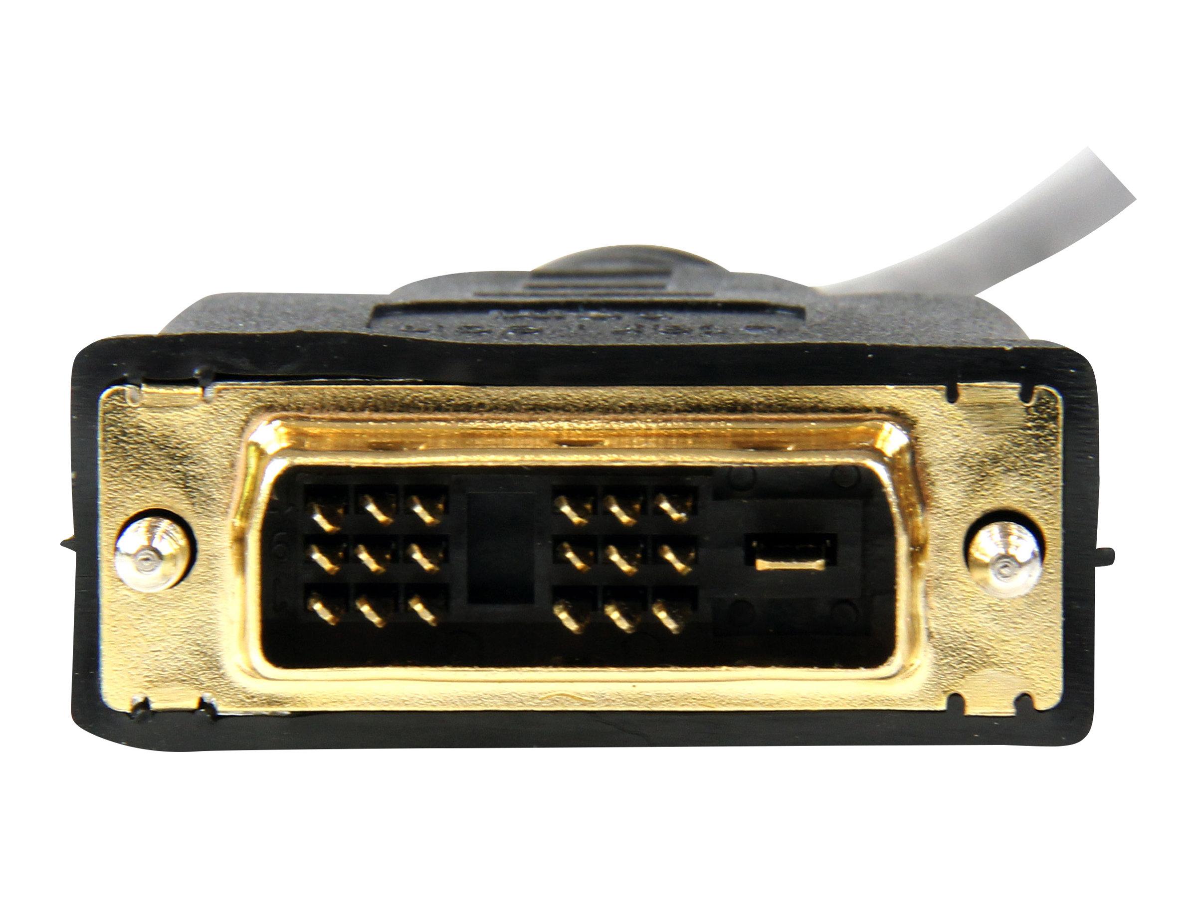 StarTech.com 1,8m HDMI auf DVI-D Kabel - HDMI / DVI Anschlusskabel - St/St - Videokabel - HDMI (M) bis DVI-D (M) - 1.83 m