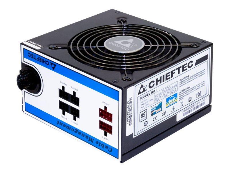 Chieftec A-80 Series CTG-550C - Stromversorgung (intern) - ATX12V 2.3/ EPS12V - Wechselstrom 230 V - 550 Watt - aktive PFC