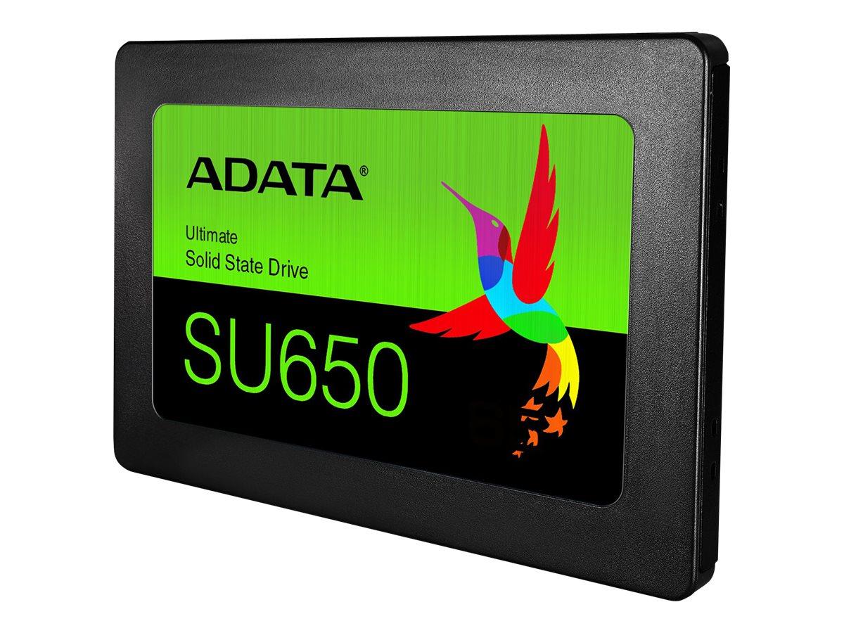 ADATA Ultimate SU650 - Solid-State-Disk - 120 GB - intern - 2.5