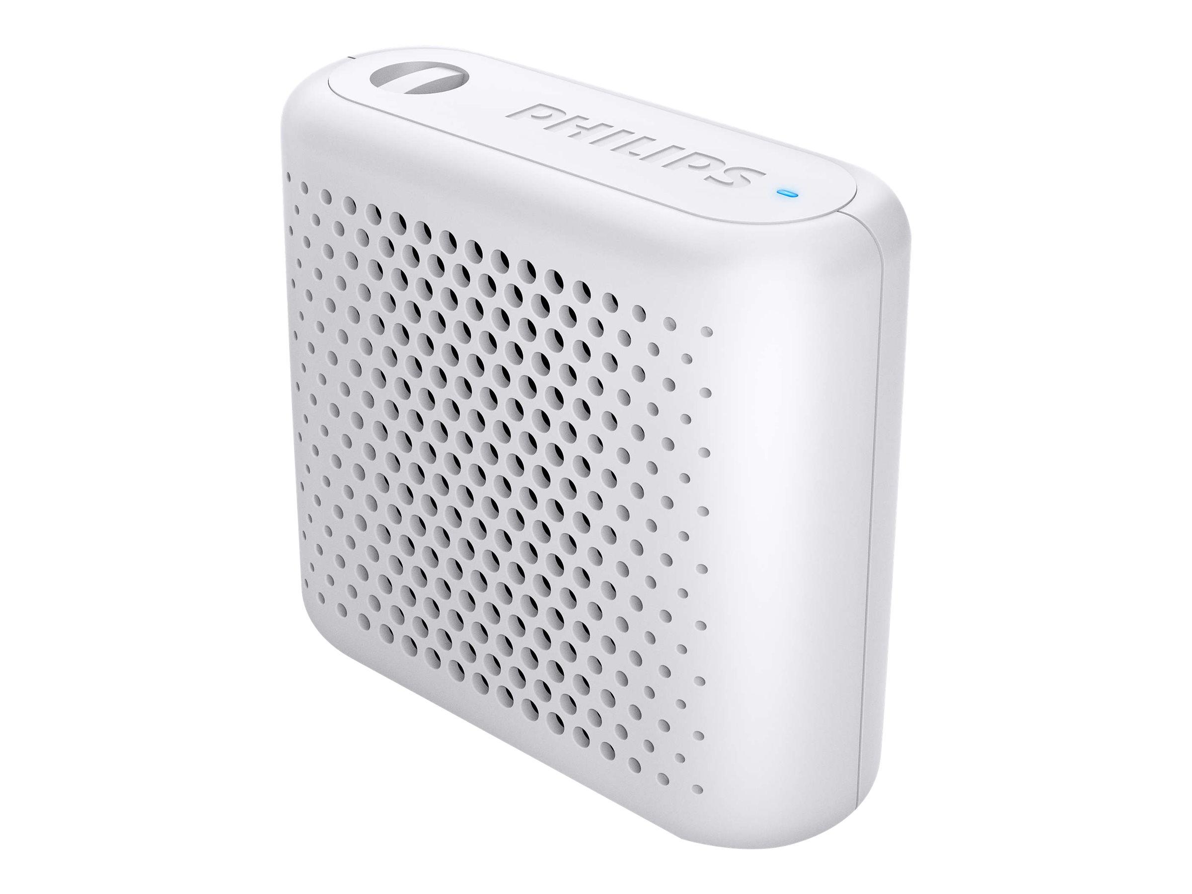 Philips BT55W - Lautsprecher - tragbar - kabellos - Bluetooth - 2 Watt