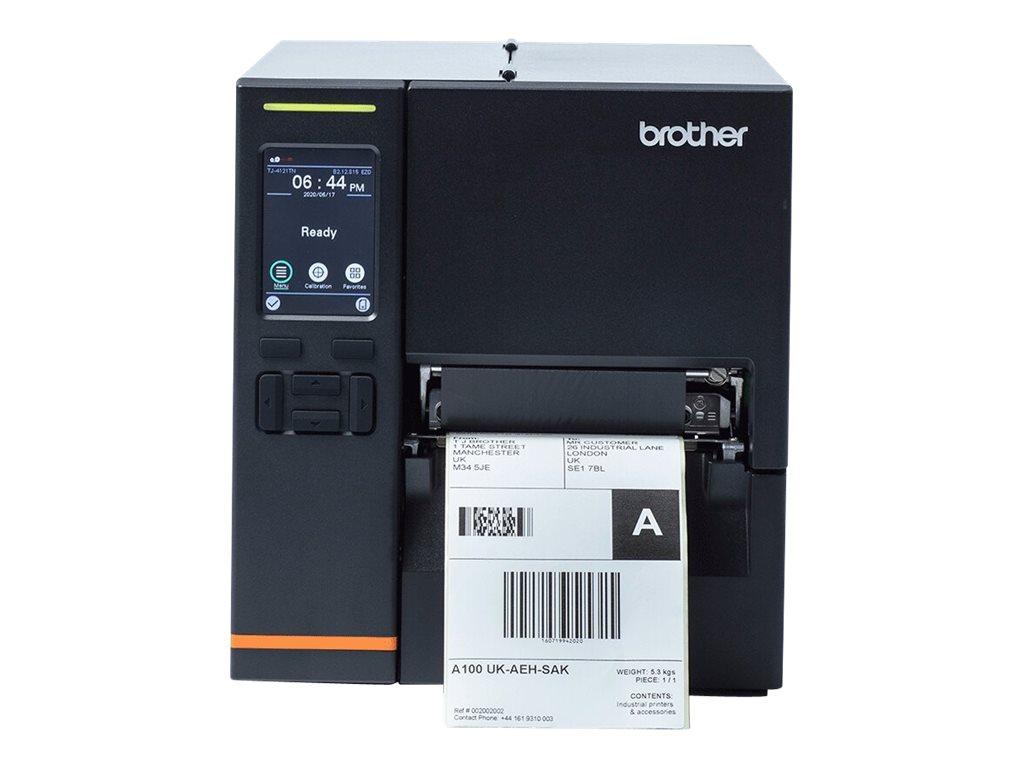Brother TJ-4021TN Industrial Label Printer - Etikettendrucker - Thermodirekt / Thermotransfer - Rolle (12 cm) - 203 dpi - bis zu