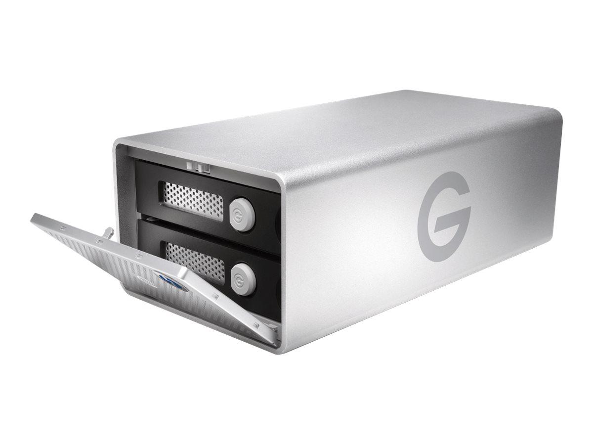 G-Technology G-RAID with Thunderbolt 3 GRARTH3EB280002BDB - Festplatten-Array - 28 TB - 2 Schächte - HDD 14 TB x 2 - Thunderbolt