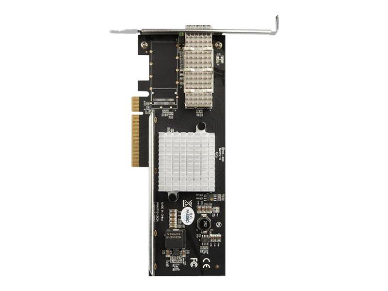 StarTech.com QSFP+ Server Network Card - PCIe 40Gbps - Converged Fiber NIC Adapter - Intel XL710 Chip (PEX40GQSFPI) - Netzwerkad