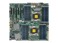 SUPERMICRO X10DRC-LN4+ - Motherboard - verbessertes, erweitertes ATX - LGA2011-v3-Sockel - 2 Unterstützte CPUs - C612