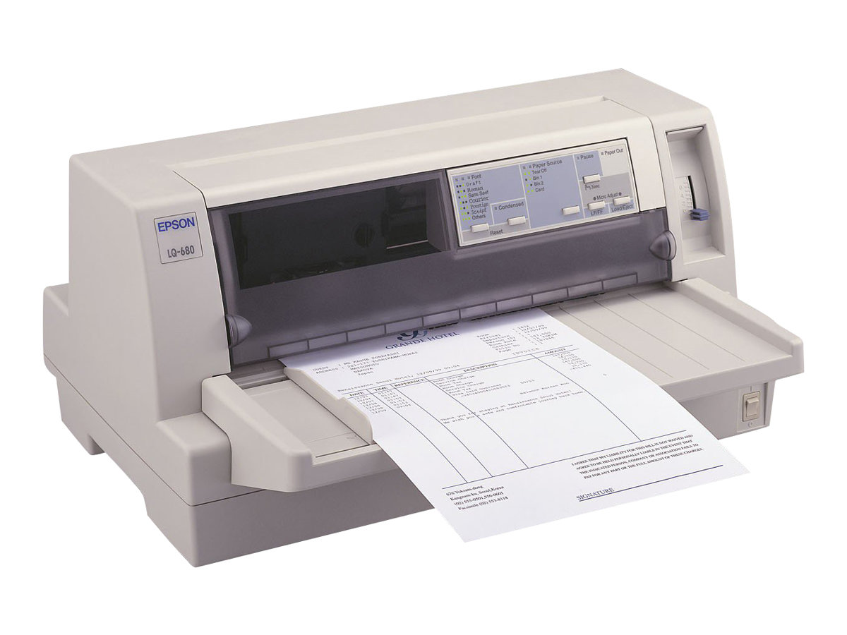 Epson LQ 680Pro - Drucker - monochrom - Punktmatrix - 305 x 420 mm, 305 mm (Breite) - 360 dpi