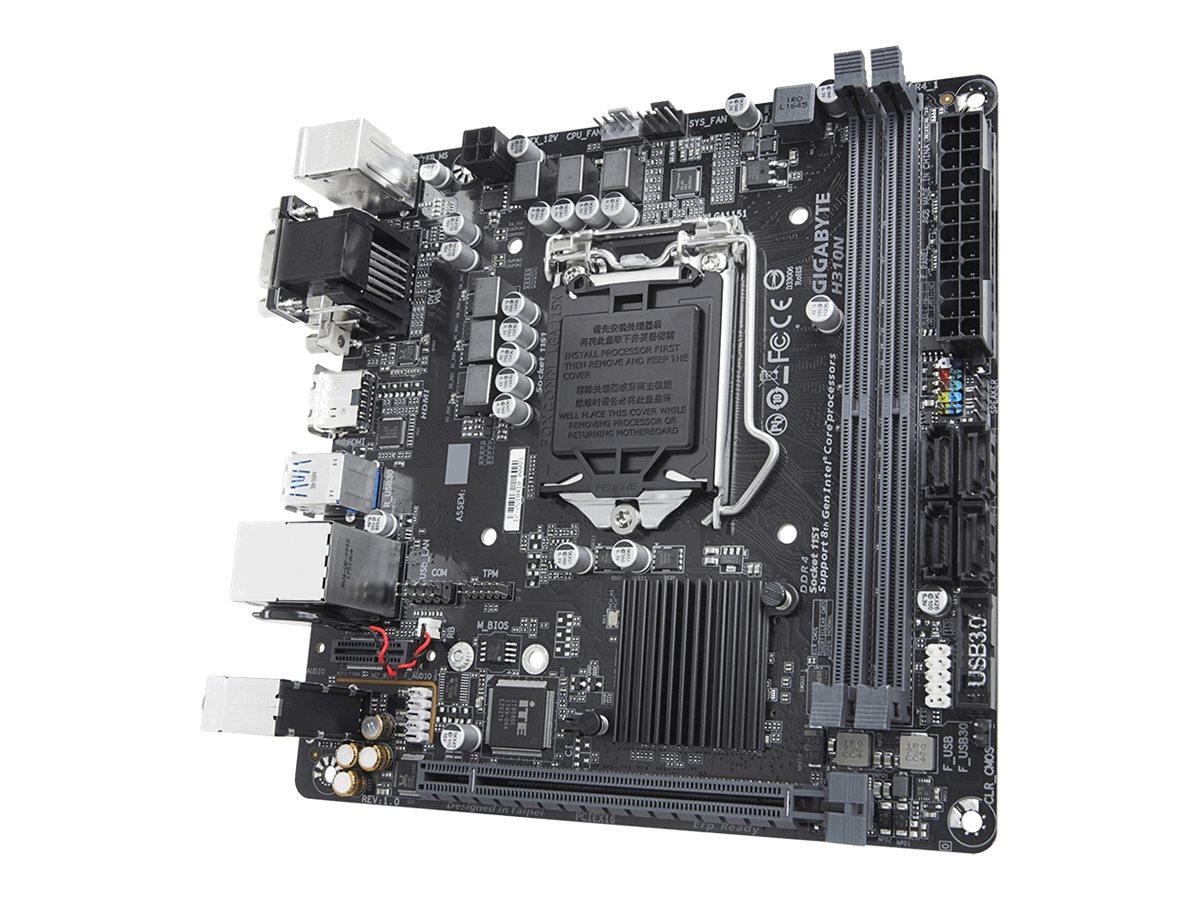 Gigabyte H310N - 1.0 - Motherboard - Mini-ITX - LGA1151 Socket - H310