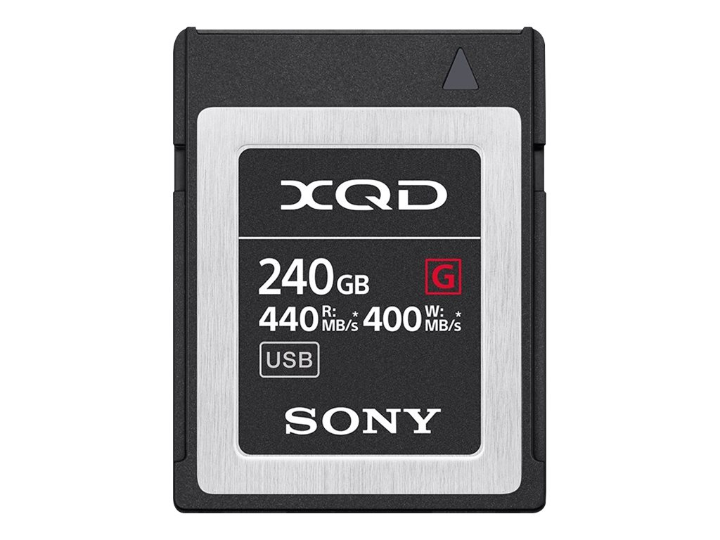 Sony G-Series QD-G240F - Flash-Speicherkarte - 240 GB - XQD