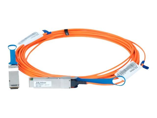 Mellanox LinkX 100Gb/s VCSEL-Based Active Optical Cables - InfiniBand-Kabel - QSFP bis QSFP - 10 m - Glasfaser - SFF-8665/IEEE 8