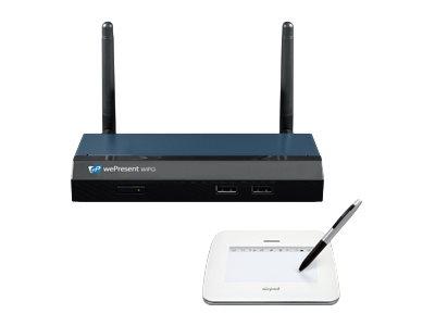 wePresent WiPG-1500 - Präsentationsserver - 100Mb LAN - Wi-Fi - 2.4 GHz - mit AirPad