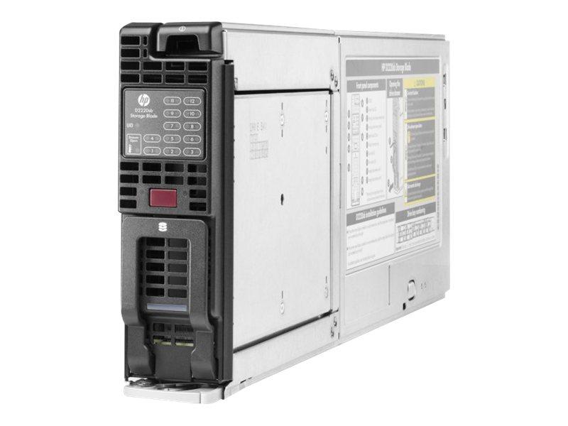 HPE D2220sb Storage Blade - Festplatten-Array - 14.4 TB - 12 Schächte (SAS-2) - SAS 6Gb/s (extern) - CTO