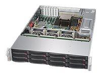 Supermicro SuperStorage Server 5028R-E1CR12L - Server - Rack-Montage - 2U - 1-Weg - RAM 0 GB