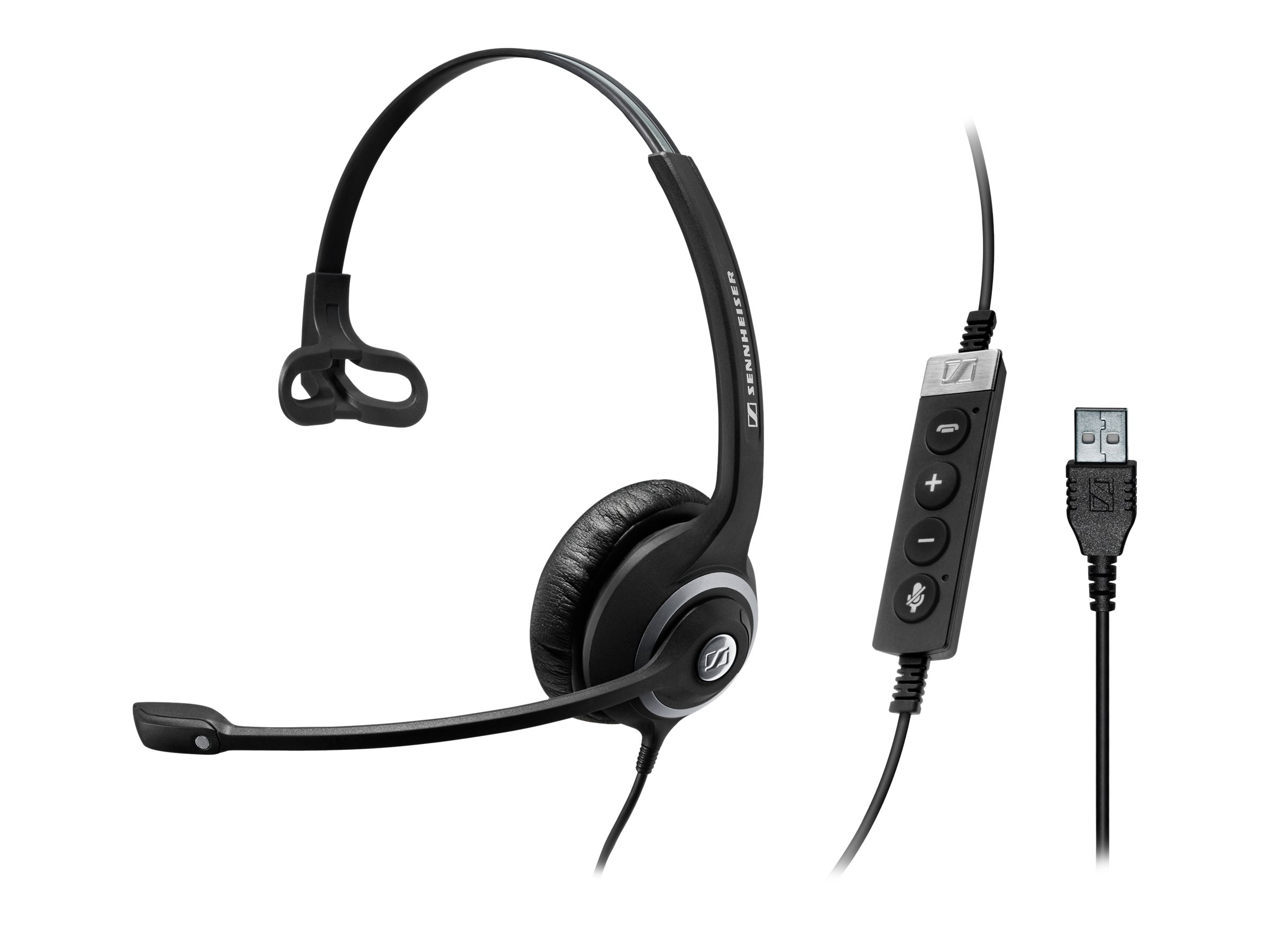 Sennheiser Circle SC 230 USB CTRL II - Headset - On-Ear - kabelgebunden - aktive Rauschunterdrückung - USB