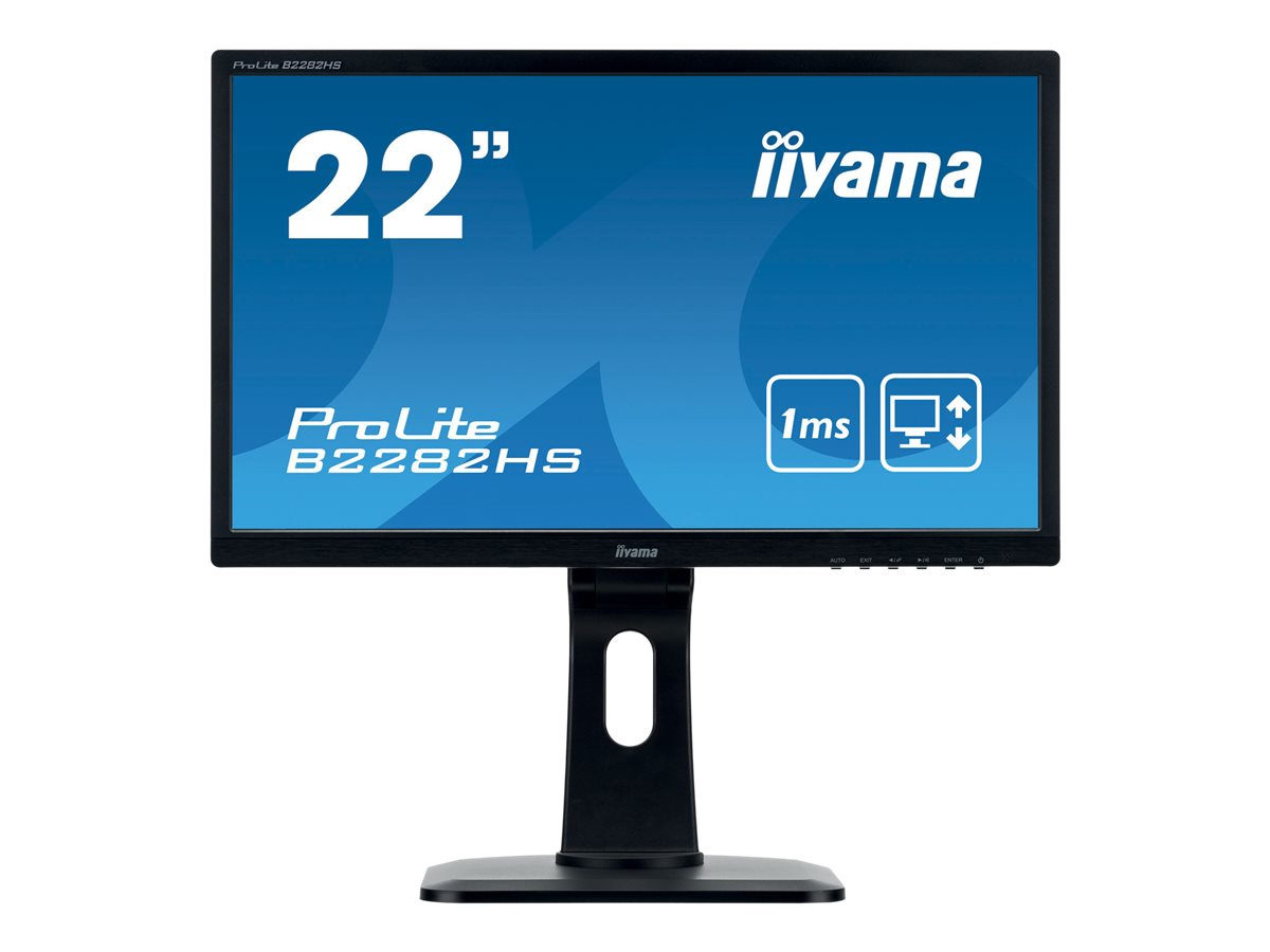 iiyama ProLite B2282HS-B1 - LED-Monitor - 55.9 cm (22