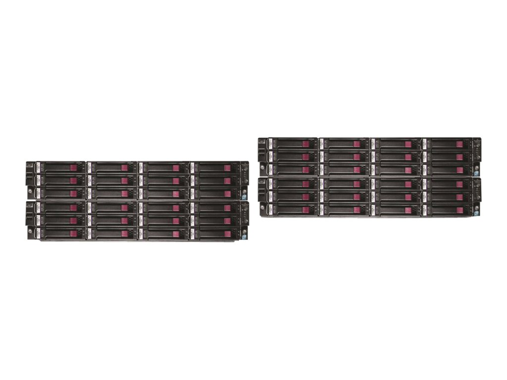 HPE StorageWorks P4500 G2 SAS Multi-Site SAN Solution - Festplatten-Array - 28.8 TB - 48 Schächte (SAS) - HDD 600 GB x 48 - DVD-