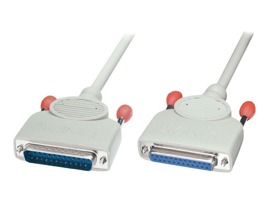 Lindy - Modemkabel - DB-25 (M) bis DB-25 (W) - 10 m - geformt