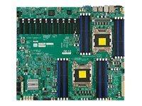 SUPERMICRO X9DRX+-F - Motherboard - LGA2011-Sockel - 2 Unterstützte CPUs - C602 - 2 x Gigabit LAN