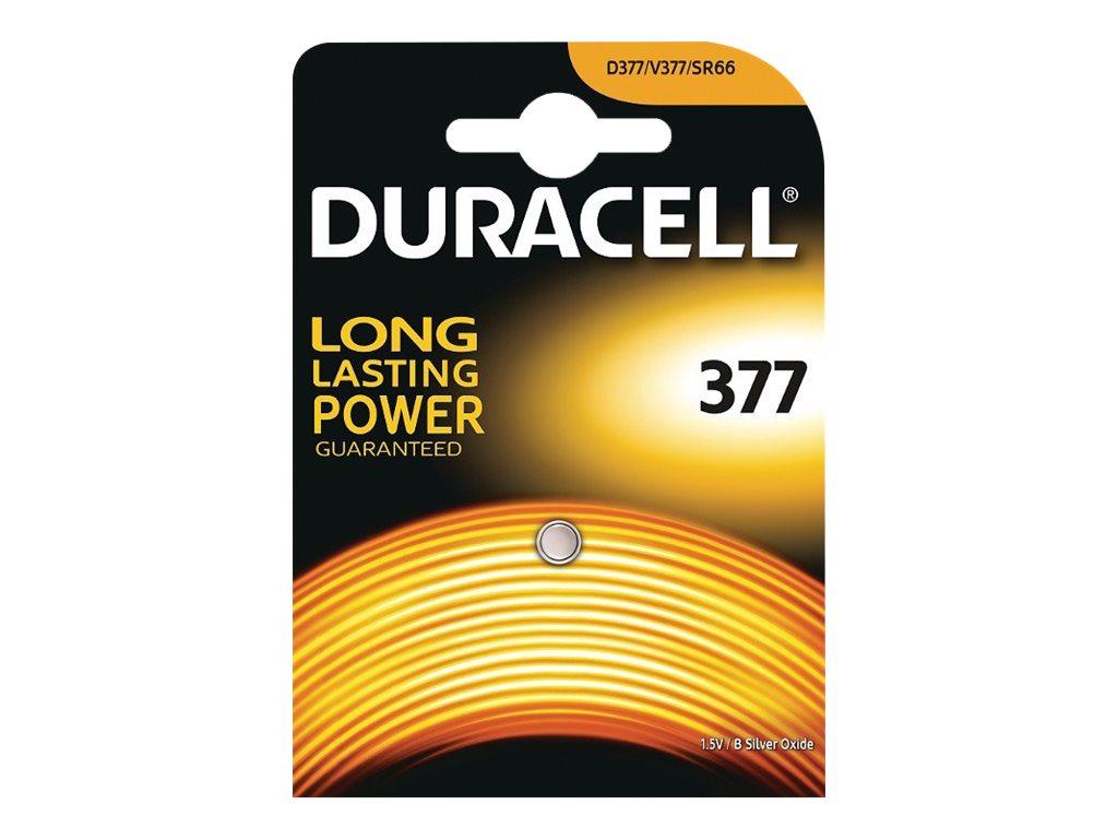 Duracell D377 - Batterie SR66 - Silberoxid - 25 mAh