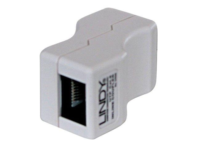 Lindy - Netzwerkkoppler - RJ-45 (W) bis RJ-45 (W) - UTP - CAT 6