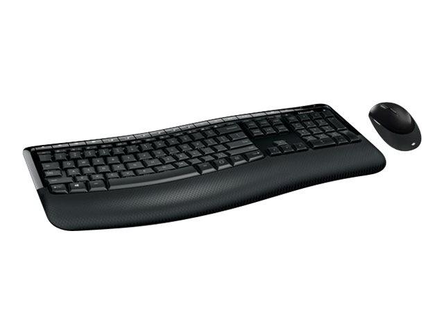Microsoft Wireless Comfort Desktop 5050 - Tastatur-und-Maus-Set - kabellos - 2.4 GHz - Deutsch