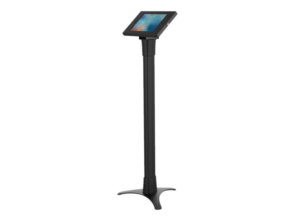 Compulocks Full Adjustable iPad Enclosure - Bodenständer für Tablett - verriegelbar - hochwertiges Aluminium - Schwarz - für App