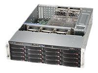 Supermicro SC836 BE1C-R1K23B - Rack-Montage - 3U - verbessertes, erweitertes ATX - SATA/SAS - Hot-Swap 1200 Watt