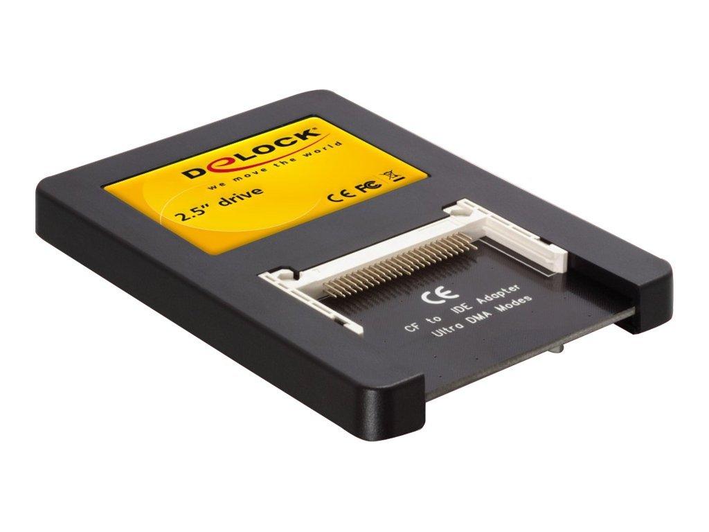 DeLOCK 2,5'' Drive IDE > 2 x Compact Flash Card - Kartenleser (CF I, CF II, Microdrive) - IDE