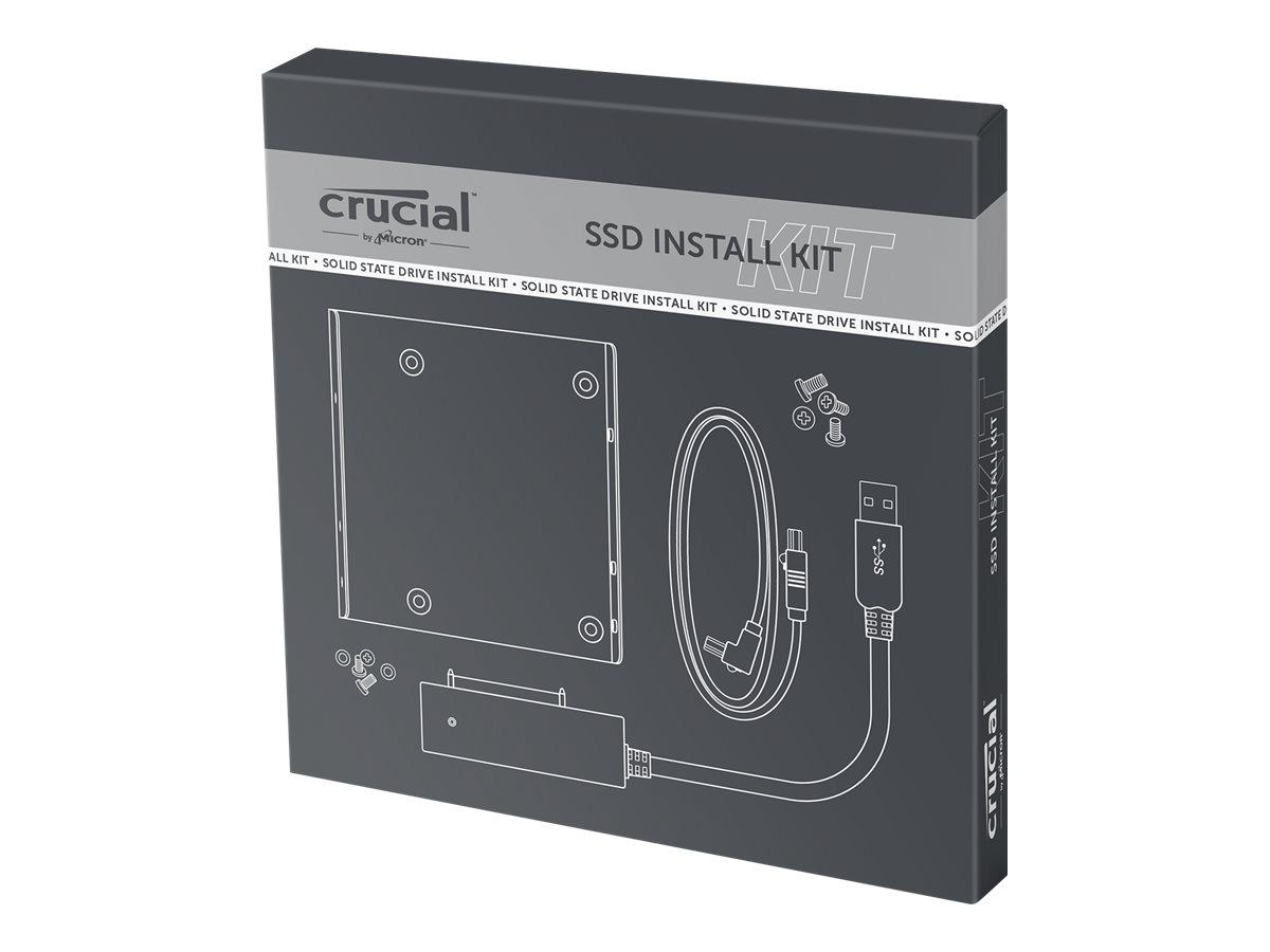 Crucial SSD Install Kit - Laufwerksschachtadapter - 3,5