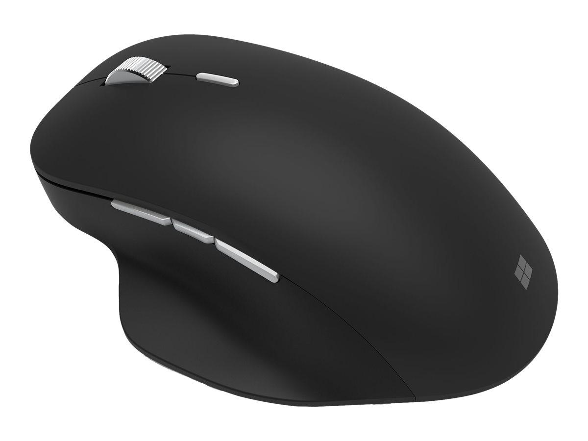 Microsoft Precision Mouse - Maus - ergonomisch - Für Rechtshänder - optisch - 6 Tasten