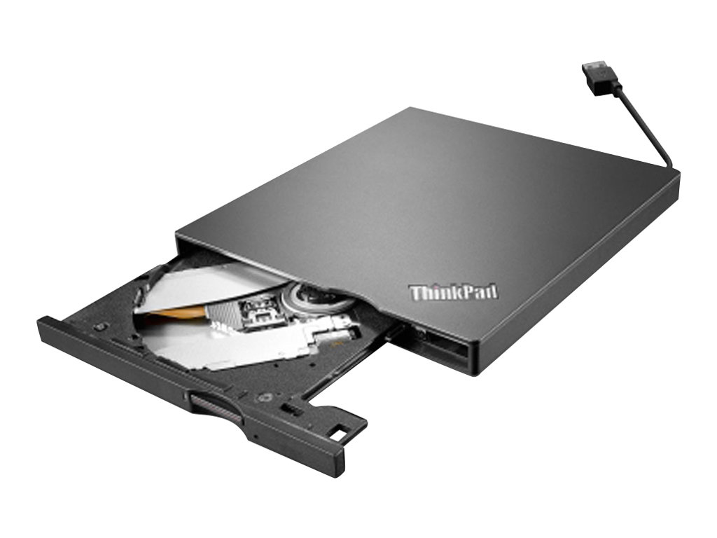Lenovo ThinkPad UltraSlim USB DVD Burner - Laufwerk - DVD±RW (±R DL) / DVD-RAM - SuperSpeed USB 3.0 - extern - FRU