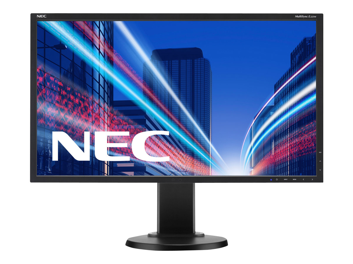 NEC MultiSync E223W - LED-Monitor - 55.9 cm (22