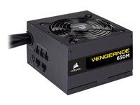 CORSAIR Vengeance Series 650M - Stromversorgung (intern) - ATX12V 2.4/ EPS12V 2.92 - 80 PLUS Silver - Wechselstrom 100-240 V - 6