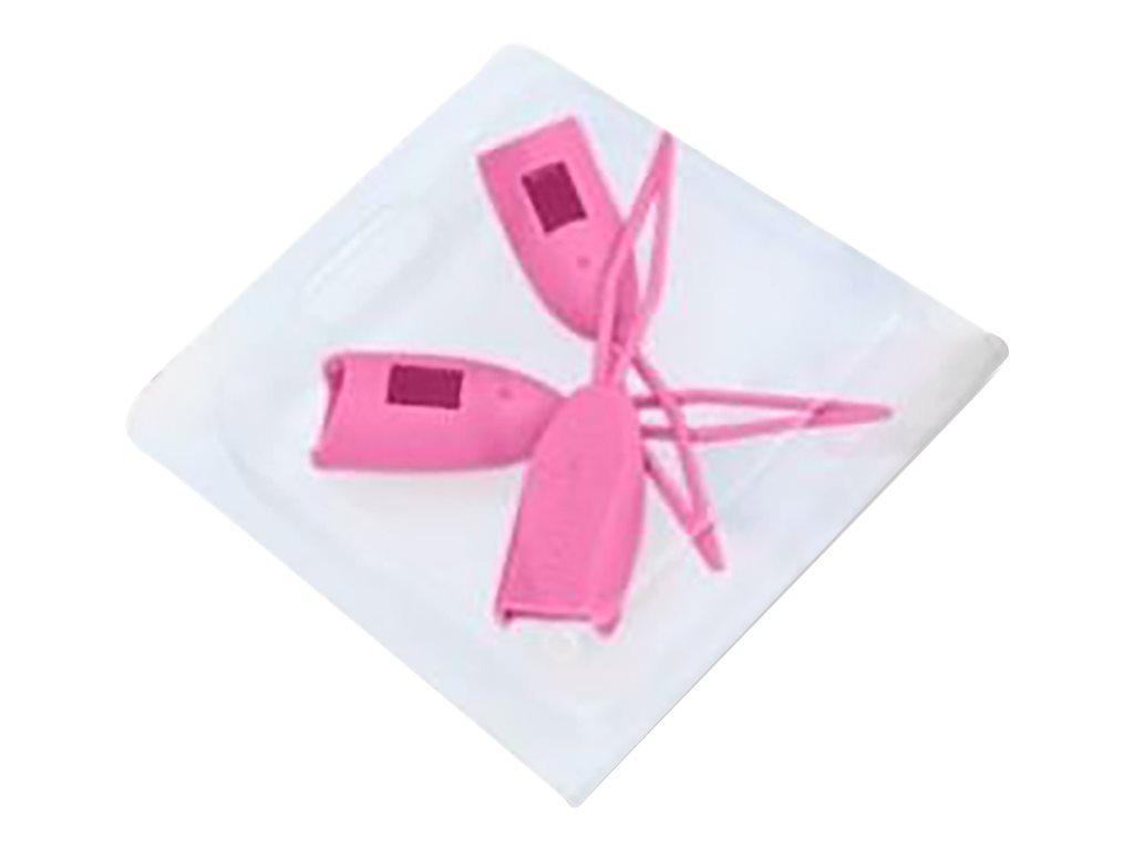 PatchSee PLUgCAP - Anschlussabdeckung - pink (Packung mit 3)