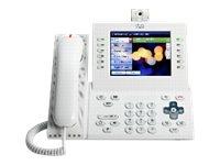 Cisco Unified IP Phone 9971 Slimline - IP-Videotelefon - IEEE 802.11b/g/a (Wi-Fi) - SIP - mehrere Leitungen - Arctic White