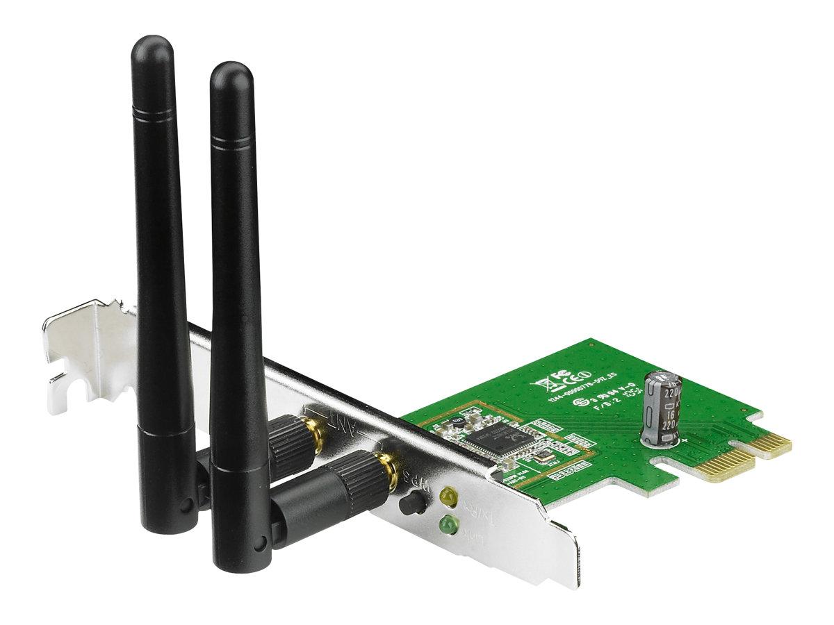 ASUS PCE-N15 - Netzwerkadapter - PCIe Low-Profile - 802.11b, 802.11g, 802.11n