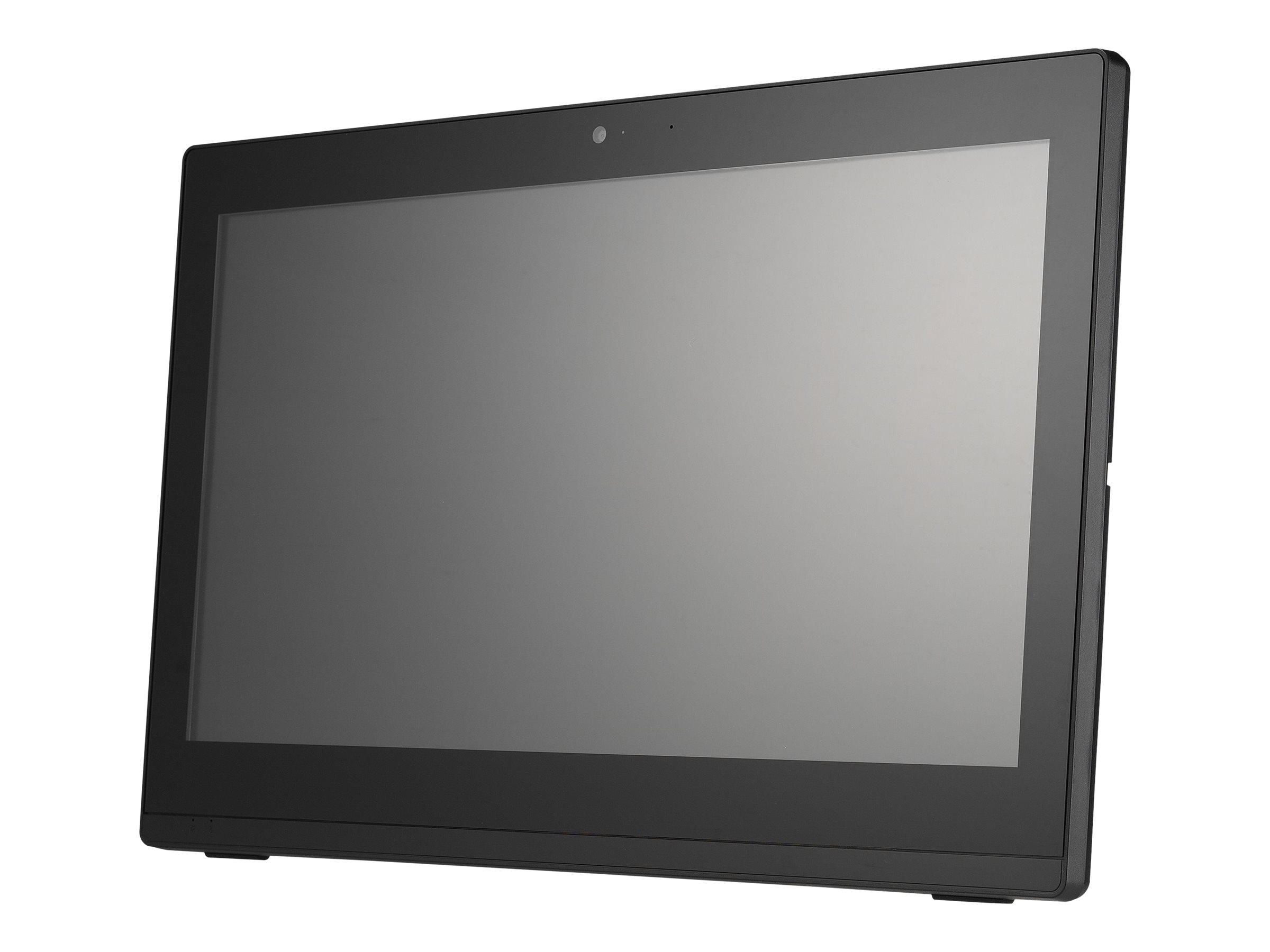 Shuttle XPC POS P900 - All-in-One (Komplettlösung) - 1 x Celeron 3865U / 1.8 GHz ULV - RAM 4 GB - SSD 120 GB - HD Graphics 610