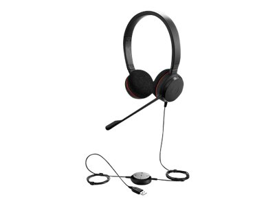 Jabra Evolve 20 UC stereo - Headset - On-Ear - kabelgebunden - USB
