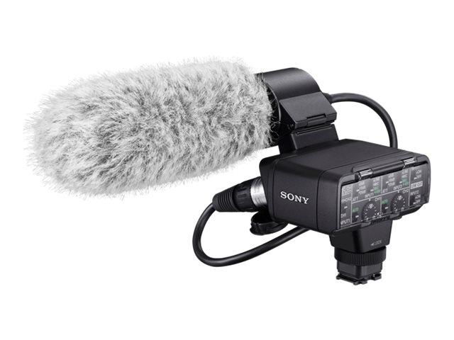 Sony XLR-K2M - Mikrofon-Adapterkit - für Cyber-shot RX10; Handycam FDR-AX700; NXCAM HXR-NX80; XDCAM PXW-Z90; a6400; a7 III; a7R